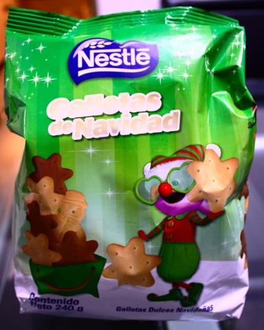 Julkakor från Nestlé.