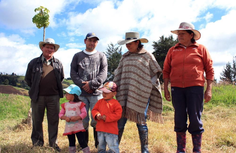 Rosa och hennes familj